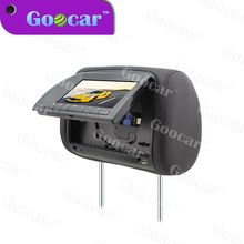 multi-function and comfortable car headrest DVD player