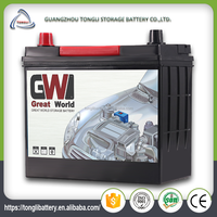 Chinese car batteries with strong start power batteries for auto