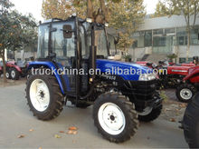45HP 454 4WD 4x4 Agricultural wheel Tractor with Canopy for Myanmar Market