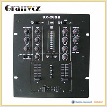 Factory directly provide high performance digital karaoke mixer