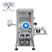 Bespacker BZD-95B Automatic manual plastic paper bottle tray disposable cup sealing sealer packing machine