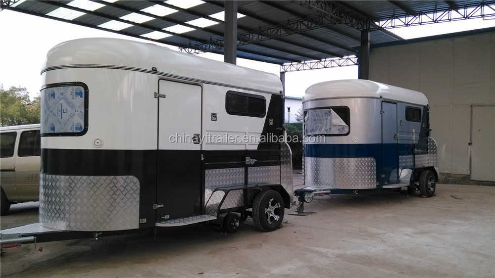two horse trailer ramp door made in China