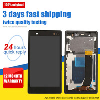 [JQX] manufacturing repair parts lcd digitizer touch screen for sony xperia z l36h c6602 c6603 c6606