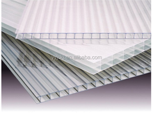 Customized size Clear PC hollow sheet used in Greenhouse