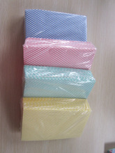 [Factory] lightweight cleaning cloths,patient dry wipes,semi disposable J cloth