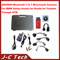2015 ADS5600 Bluetooth 7 In 1 Motorcycle Scanner For BMW for Harley for Suzuki for Honda for Ya-ma-ha Triumph KTM