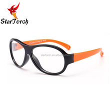 Silicone frame outdoor safety glasses 720p video glasses kid sunglasses