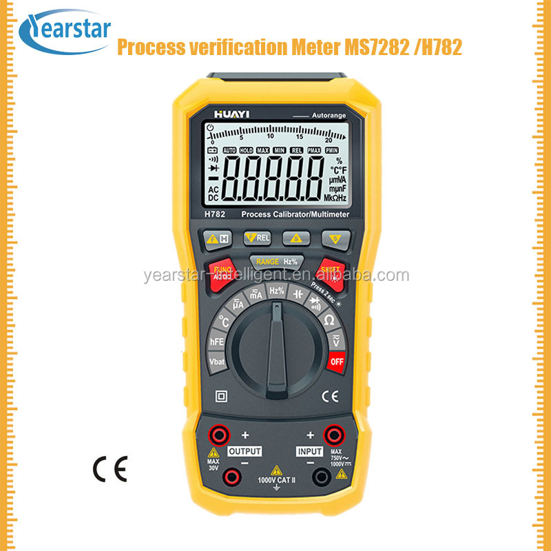 Hot sale MS7282 H782 YHS-302A/process calibrator multimeter/process multifunction calibrator/frequency meter