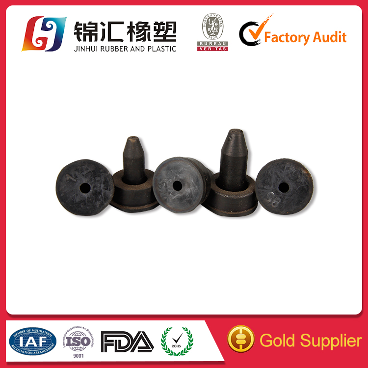 New style Electrical Properties compressed rubber stopper hole plug