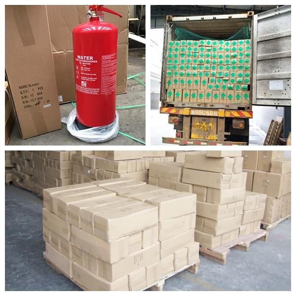 BS EN Approval Water Fire Extinguisher Fire Fighitng Equipment