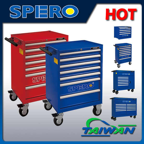 SPERO car repair tool cabinet trolley with tools