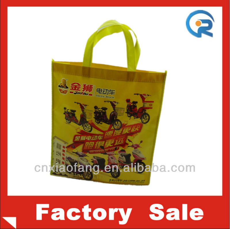 PP non woven matt laminated bag/lamination shopping bag