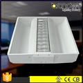 T8 fluorescen office ceiling light fixture, recessed T5 led grille lamp