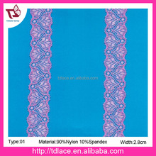 crochet embroidery elastic lace trim 01