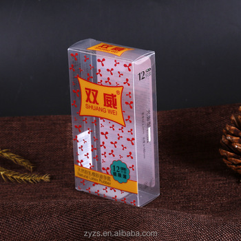 PVC PP PET Plastic transparent foldable custom clear pvc box Gift Packaging Boxes