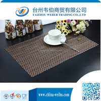 recycled pvc restaurant paper placemats