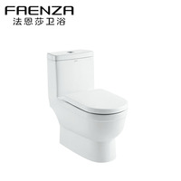 Foshan Manufacturer Bathroom Sanitary Ware Ceramic Water Saving Washdown one piece toilet