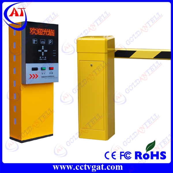 Automatic remote control car parking barrier / parking barrier system in car parking lot management