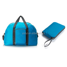 Portable polyester low price simple foldable travel bag