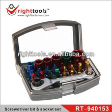 RIGHTTOOLS RT-940153 24pc Screwdriver bit & socket set