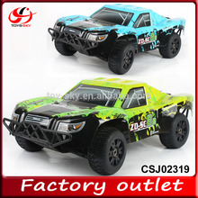 1 8 scale 2.4Ghz Nitro 4WD short course rc high speed cars RC petrol remote control truck
