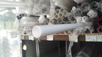 outside diameter 15mm,wall thickness 2mm milky white acrylic tube