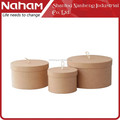 NAHAM hat box custom hat box round box with lid