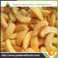 hot selling Frozen iqf sliced peach