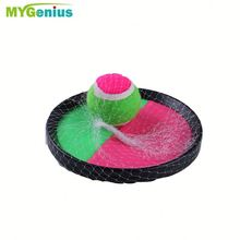 plastic sticky catch ball set ,h0tm3 flexible ball toy