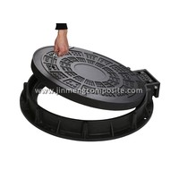 900mm smc manhole cover/bmc manhole cover gas meter cover with 316L accessory