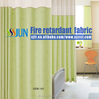 Elegant design excellent quality permanent fire-retardant, hospital Room dividers and cubicle curtain