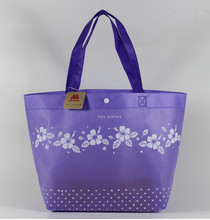 promotional custom printed shopping pp non woven bag