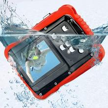Waterproof Kids Digital Camera 12MP HD 3M Underwater Camcorder with 2.0 Inch LCD Display 8X Digital Zoom
