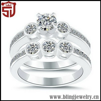 Top Quality Grace Diamond Moissanite Ring