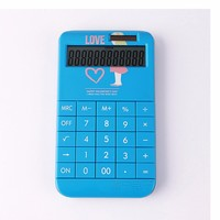 New Design Solar Power DIY Calculator with Detachable Buttons and Cover