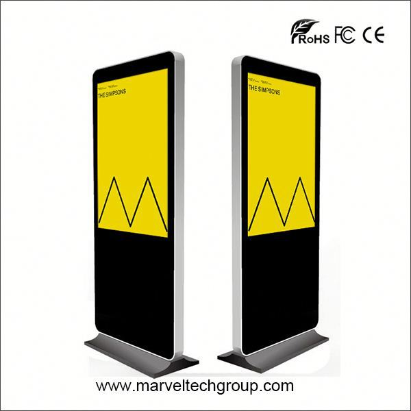 46 Inch Floor Standing Android Wifi commercial advertising display screen