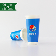 Fast food series paper cup with large size