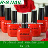 Soak Off Base UV Gel, Color Oil Gel, Top Coat Gel
