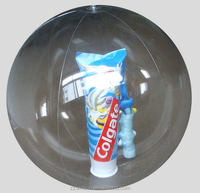 Promotional Clear Pvc roll inside inflatable ball