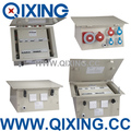 CEE IEC603 IP67 Protection Level ground distribution box with plug and socket type