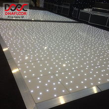 Portable white club led dance floor lighting black backdrop cloth