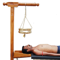 SHIRODHARA STAND wooden HEAD SUPPORT Physiotherapy Exercise Occupational Therapy product Physical Medical Unit Fitness Equipment