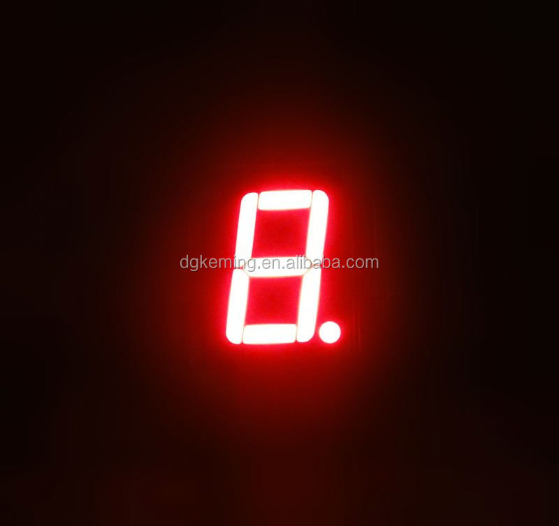Ultra red 0.56 inch one 1 single digit led electronic football scoreboards