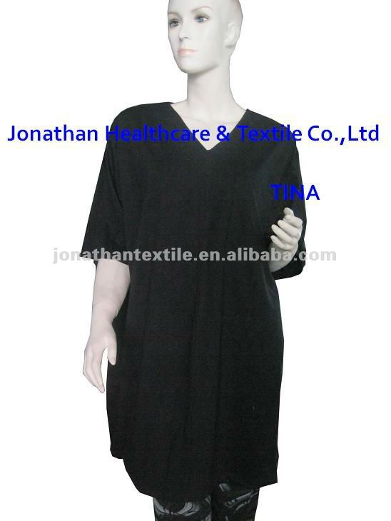hospital gown soft knitted fabric