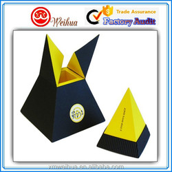 Unique Pyramid designed Kraft Cardboard Cigarette packaging paper box