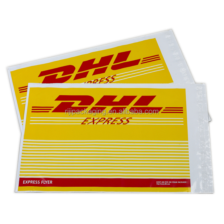 Custom Logo Printed plastic bags DHL UPS TNT Express Shipping Envelope / Poly bag / Plastic Courier