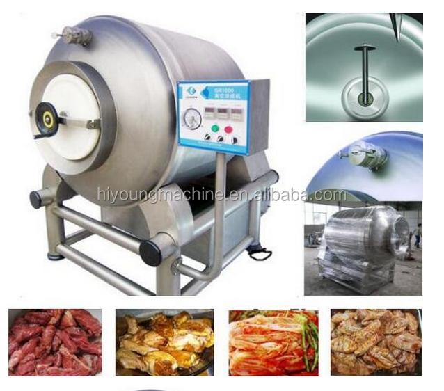 Meat Processing Machine Type Chicken/Ham/Pork/Beef/Shrimp Meat Tumbler