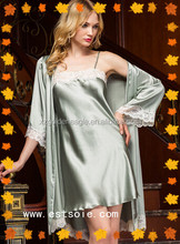 Gracious and luxous silk nighties
