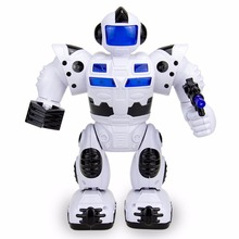 wholesale happy kid walking robot toy