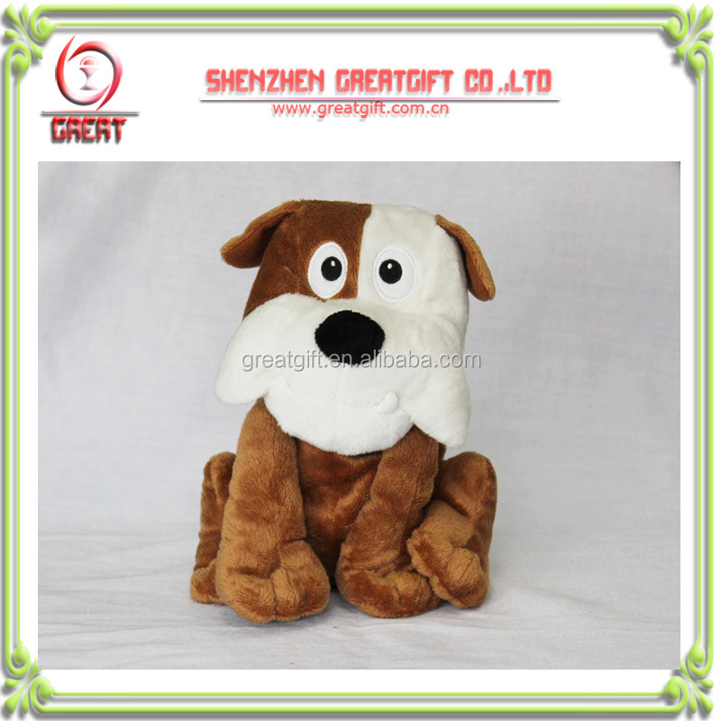 voice dog plush toy/voice stuffed toys/voice soft toy with voice box;laughing toys